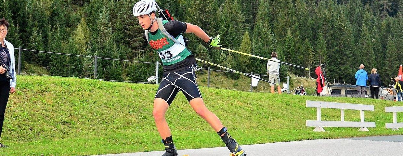Jonas Bacher - ÖM Biathlon KK Skiroller