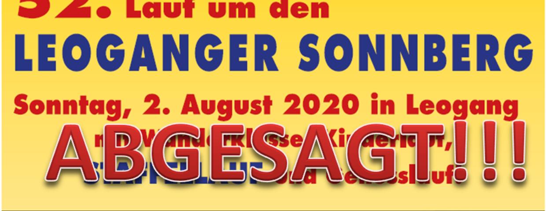 52. Sonnberglauf Abgesagt!!!