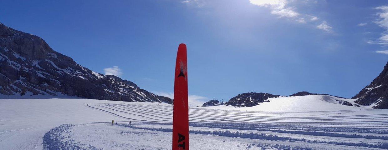 Erstes Schneetraining der Nordischen am Dachsteingletscher